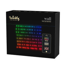 Add a bright, unique touch to your holiday lighting with this Twinkly LED Starter Kit 216-light Wi-Fi Enabled red, green and blue Curtain light set from Kurt Adler! The Twinkly light sets operate via Wi-Fi through the Twinkly app available for free on your smartphone. Use the App to choose from numerous animated light displays.