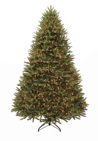 Puleo International 9ft Washington Valley Spruce Tree in Warm White