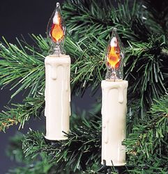 Kurt Adler Flicker Flame Candle Light Set Ul0740