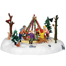 Lemax Village Collection Holiday Merry-Go-Round #14340