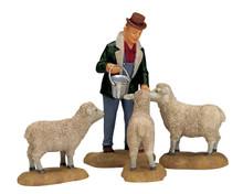 Lemax The Good Shepherd, Set of 4 #12499