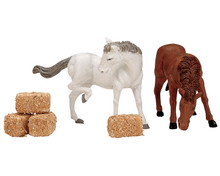 Lemax Feed For The Horses, Set of 6 #12511