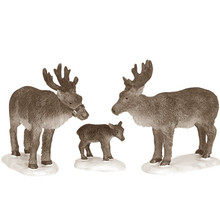 Lemax Village Collection Reindeer, Set of 3