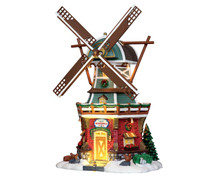 Lemax Village Collection Stony Brook Windmill #25384