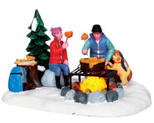 Lemax Village Collection Campfire Fondue #34625