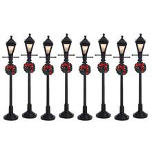 Lemax Village Collection Gas Lantern Street Lamp, set of 8 #64500