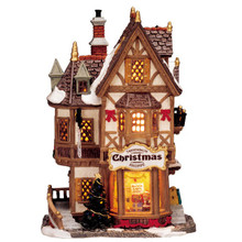Lemax Village Collection Tannenbaum Christmas Shoppe #35845