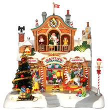 Lemax Village Collection Santa's Workshop #35558