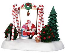 Lemax Village Collection Santa Swing #24479