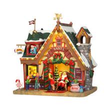Lemax Village Collection Santa's Cabin #35554
