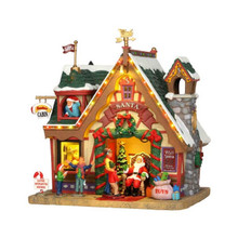 Lemax Village Collection Santa's Cabin #35554