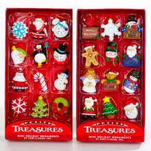 Kurt Adler Petite Treasures Mini Ornament 12-piece Box #H9914