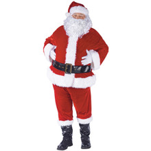 Plus Complete Velour Santa Suit
