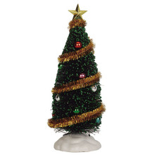 Lemax Village Collection Sparkling Green Christmas Tree Large #04492