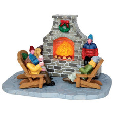 Lemax Outdoor Fireplace #44753