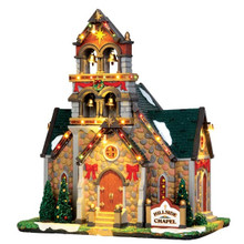 Lemax Village Collection Hillside Bell Chapel #45729