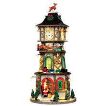 Lemax Village Collection Christmas Clock Tower #45735