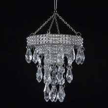 Kurt Adler Plastic Chandelier Ornament #T0807