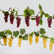Kurt Adler 6ft Thick Vine Grape Garland, 2 Assorted #D1745