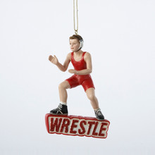 Kurt Adler Wrestle Boy Ornament #C7269