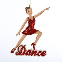 Kurt Adler inDancein Girl Ornament #C8338