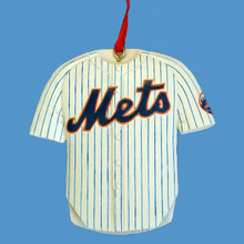 Kurt Adler Mets Personalized Jersey Ornament #MB0027MET