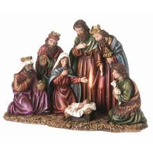 "Resin Nativity Piece 9"" #MTX45365"