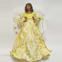 16in African American Angel Tree Topper