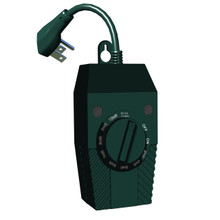 Outdoor Light Timer  -Green