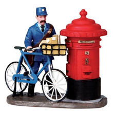 Lemax Village Collection the Postman #02753