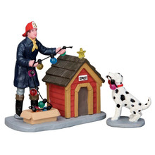 Lemax Village Collection Spot Helps Out, set of 2 #52320