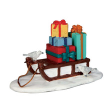 Lemax Village Collection Sled With Presents #54937