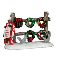 Lemax Village Collection Christmas Wreaths 4 Sale #54942