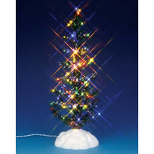 Lemax Village Collection Lighted Pine Tree Multi Large  #54950