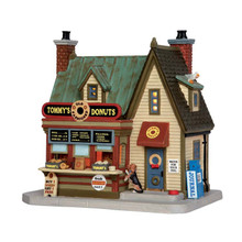 Lemax Village Collection Tommy's Donuts #55925