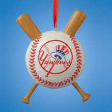 Kurt Adler NY Yankees Baseball Ornament #MB2151YNK