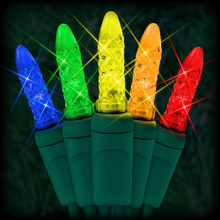 70 LED Multi Colored Corn Bulb Light Set