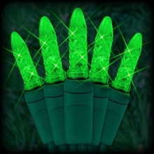 70 LED Green Corn Bulb Light Set