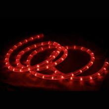 18ft LED Red Light Rope Set