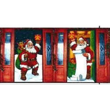 60in Decorative Christmas Door Cover