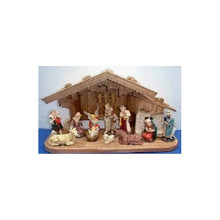 11-Piece Nativity Set with Stable #70428