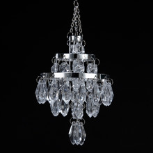 Kurt Adler Clear Bead Chandelier Ornament #D0891