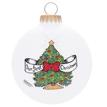 Heart Gifts by Teresa Our 1st Christmas Tree Keepsake Ornament #2101