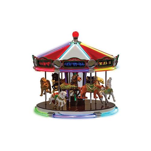 Mr Christmas Carousel.Mr Christmas 1939 World S Fair Carousel 79789