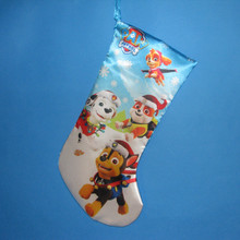 Kurt Adler 19in Paw Patrol Printed Satin Stockng #PP7151