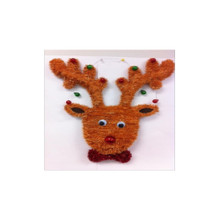 Tinsel Reindeer Decoration #18W-DEER