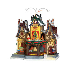 Lemax Village Collection Holiday Hamlet Christmas Shoppe #55026