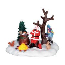 Lemax Village Collection Santa Takes A Break, #64084