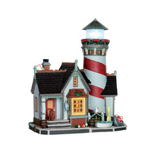 Lemax Village Collection Crest Point Lighthouse, #65094