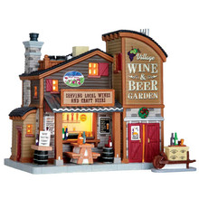 Lemax Village Collection Village Wine & Beer Garden, Set of 2 #65111